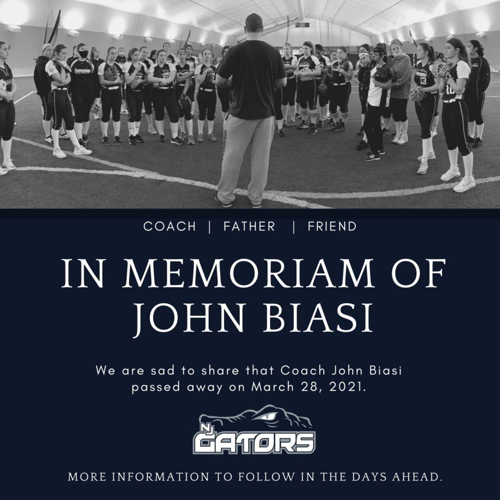 John Biasi Memorial Photo
